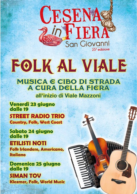 Folk al Viale per Cesena in Fiera
