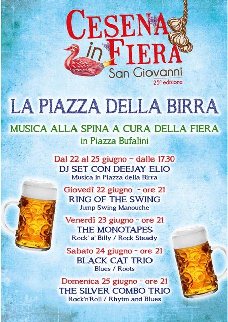 La Piazza della Birra di Cesena in Fiera